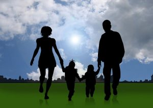 family facing divorce